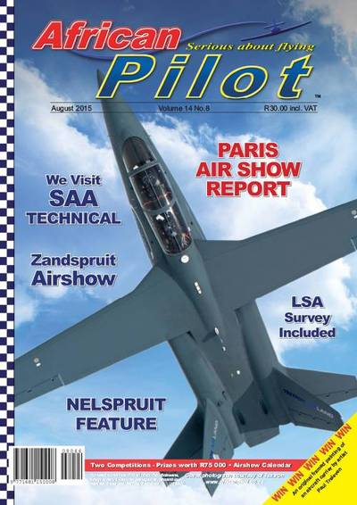 African Pilot Cover