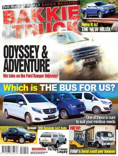 Bakkie & Car Magazine Cover