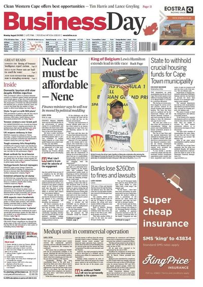 Business Day Cover