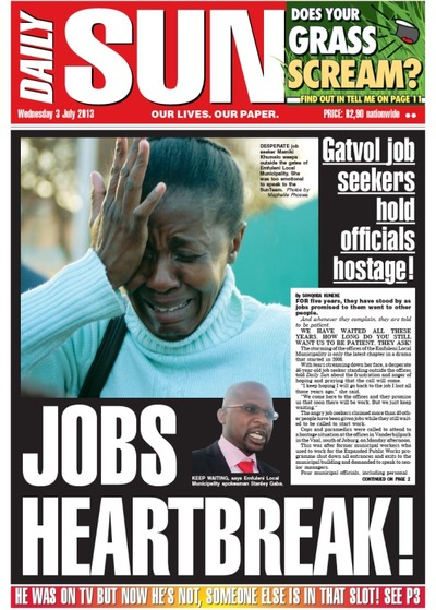 Daily Sun Cover