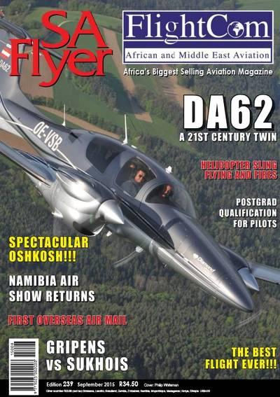 Flyer, SA (Magazine) Cover