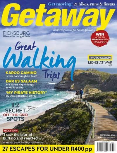 Getaway Magazine Cover
