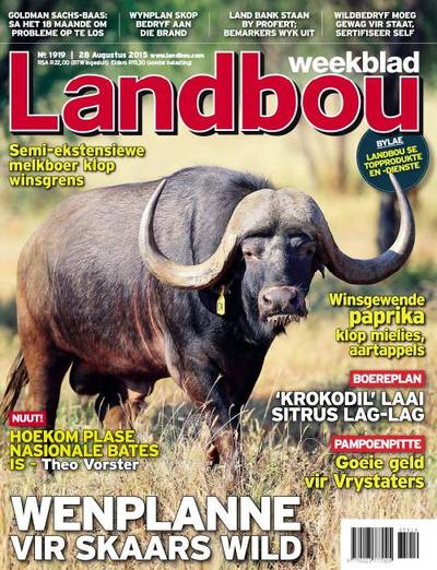 Landbouweekblad Cover