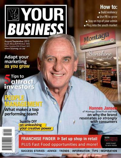Your Business Magazine Cover
