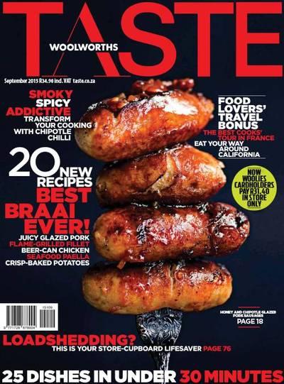Woolworths Taste Cover