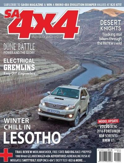 4x4, SA Cover