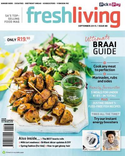 Fresh Living/Kook & Kuier. Cover