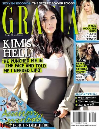 Grazia South Africa Cover