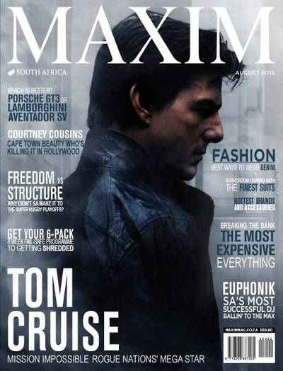 Maxim South Africa Cover